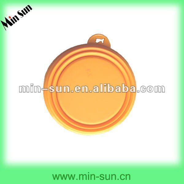 Food Safe Silicone Foldable Dog Travel Bowl