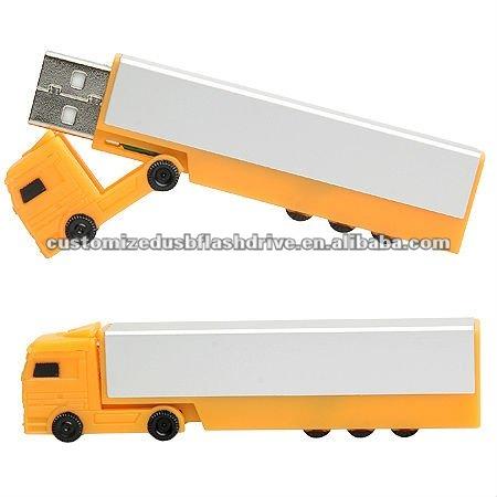 Long Truck USB,Truck Shape USB,PVC USB Drive