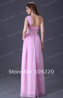 Вечернее платье Grace Karin Stock One Shoulder Wedding Party Gown Prom Ball Evening Dress 8 Size CL3410