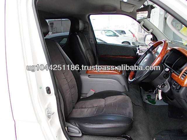Used White RHD Toyota Hiace SUPER GL Diesel Van 2008