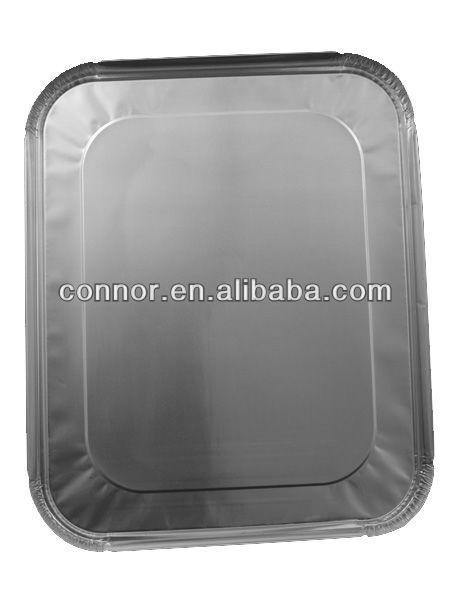 half size deep aluminium foil containers