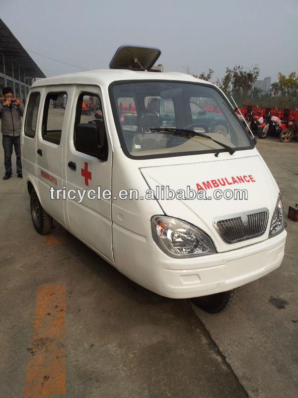 Hospital Ambulance Closed Three Wheel Motorcycle Tricycle
