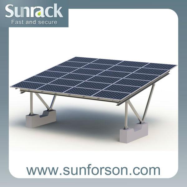 The Latest Design Aluminum Solar Carport Kits View