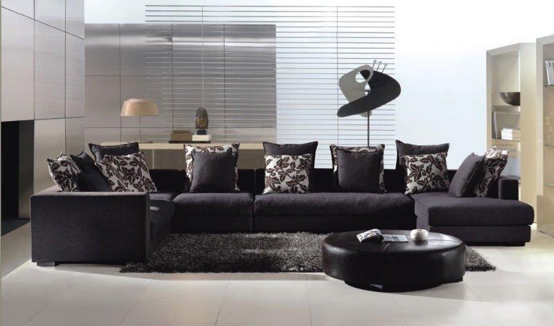 Tecido de sofá sofá de luxo para sala de estar mobiliário (a9625 ...