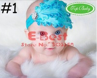 Детский аксессуар для волос New Design! 6pcs/lot Baby Girl Fashion headbands, Sweet hair band, feather headwear