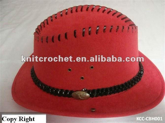 Vintage Fashion Cowboy Hats, Knight Cap Hat, Summer Hat, Equestrian Helmet (KCC-CBH005/8)