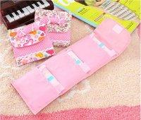 падение судоходство санитарно полотенце салфетка колодки сумки кошелек сумка мешок держатель девушки тайных косметики, как видно на ТВ