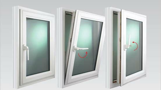 Tilt Open Window : Standard size aluminum tilt and turn window buy
