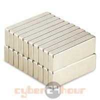 20шт много сильных бар кубовидной блок редкоземельных магнитов неодим 30 x 10 x 4 мм n35