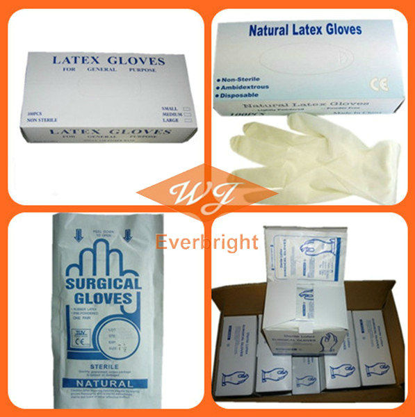 Latex Free Gloves Medical Operation Hospital Best Sale in 2013
