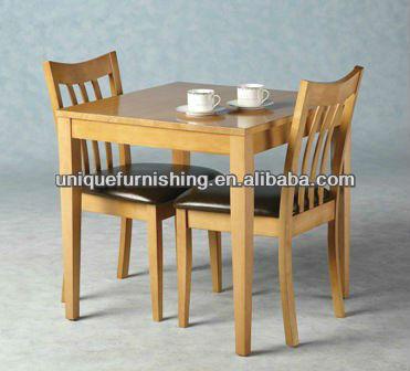 Massief houten eetkamer sets 2 persoons eettafel voor kleine ruimtes eetkamer sets product id - Eettafel en houten eetkamer ...