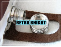 Плоская фляжка Retro Knight@5oz Stainless Steel Hip Flask set /hyaline wine pot /wine accessory/bar set/with the real leather bag