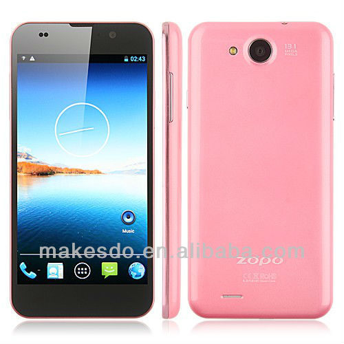 Original ZOPO C3 MTK6589T 1.5 GHz Quad Core Android phone 5.0'' FHD Screen1920x1080P 13MP Camera