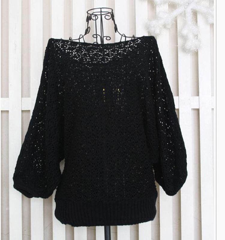 Ажурный свитер женский доставка