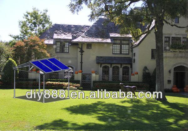 DIY Aluminum Solar Canopy/Carport