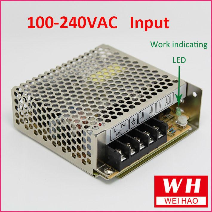 NES series 35W ac dc switch mode power supply