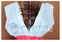 Женское платье Women's Spring And Summer Beautiful V Vest 2012 Dress New Fashion Match Chatelaine 3648