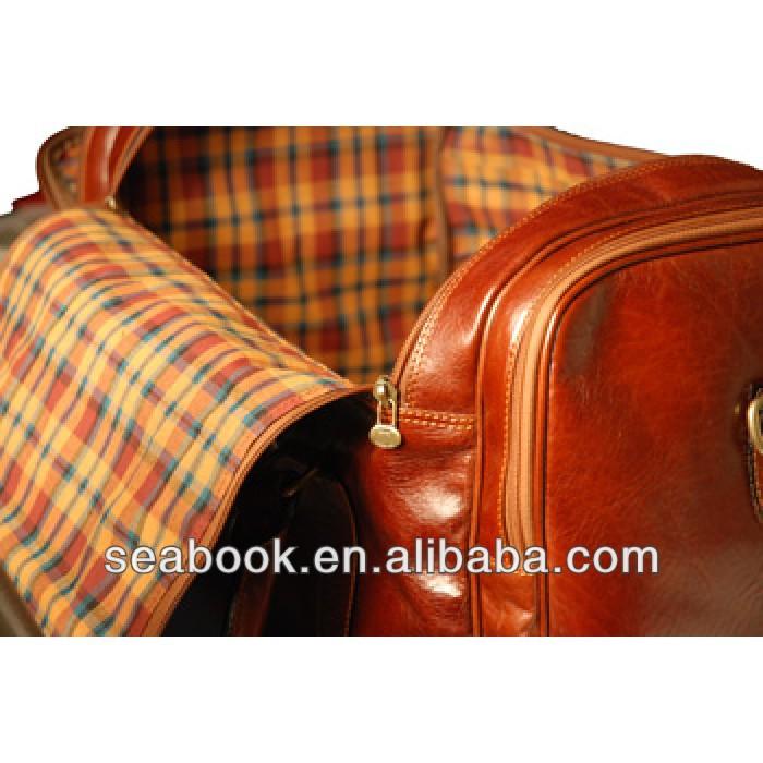 Genuine leather travel bag,leather Duffel bag 2015