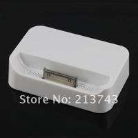 Зарядное устройство для мобильных телефонов New Charger Sync Dock Cradle for Apple iPhone 4 4G 4TH