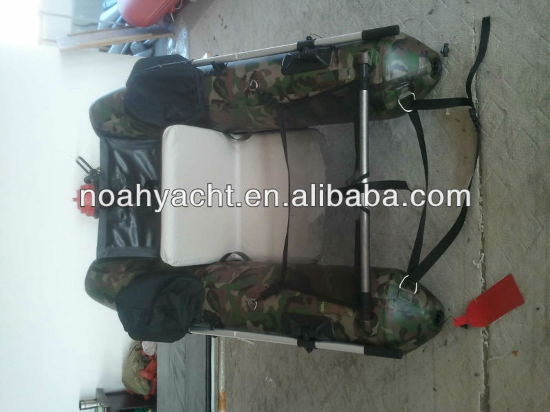 1.0mm pvc camouflage color, pontoon boat,inflatable boat,fishing boat