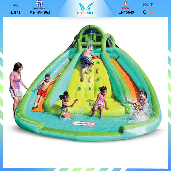 Popular inflatable water slide for home