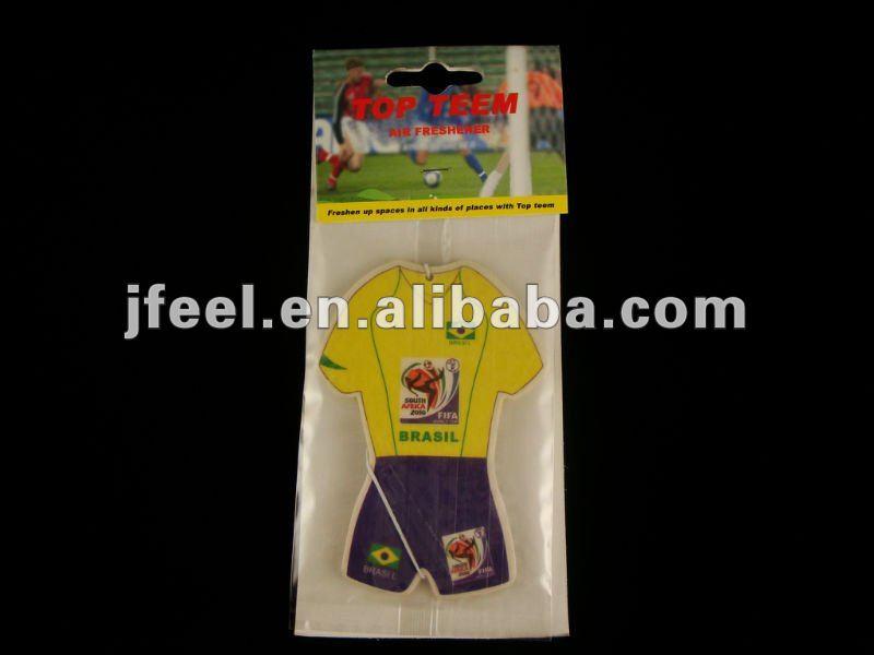 T-Shirts shaped Paper Car Air Freshener,Perfumes Paper Card