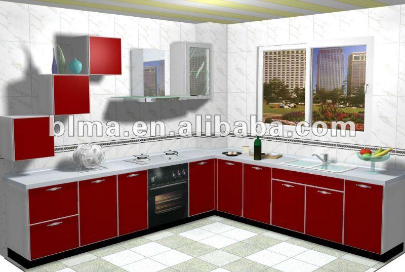 Modernos Muebles De Cocina Con Pvc De La Puerta Cocinas