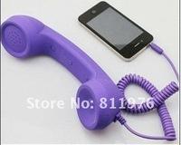 Телефонная гарнитура Anti-radiation Retro Antique Style Mobile Phone Headset 3.5mm for iPhone headsets