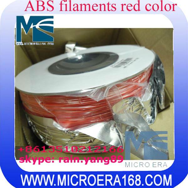 3D printer supplies ABS/PLA printer supplies red color