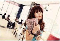 Клатч fashion leopard-print lady day clutch tote bag women casual zipper small handbags shoulder bag