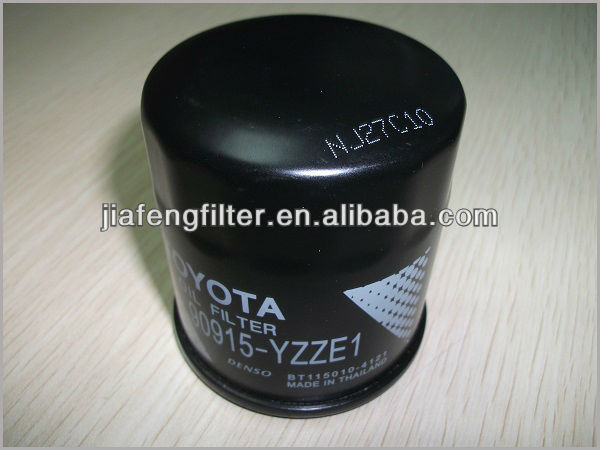 Oil Filter Factory wholesale Auto Oil Filter, Genuine Toyota Oil Filter 90915-YZZE1, 90915-YZZD4, 90915-YZZC5