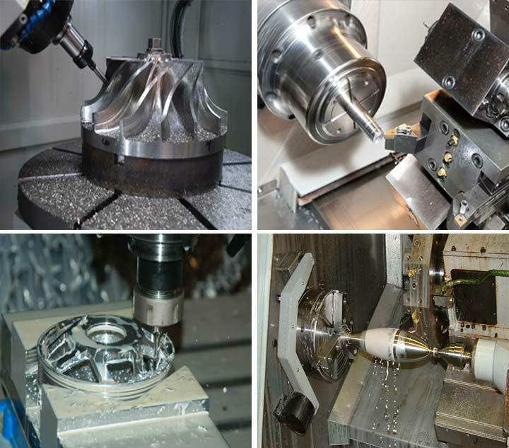 High precision aluminun machining aluminum tubing process aluminum turning parts