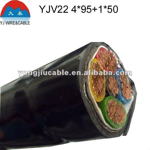 Preço de energia de alta tensão cabo de 25mm 35mm 50mm 120mm 300mm cabo de cobre blindado