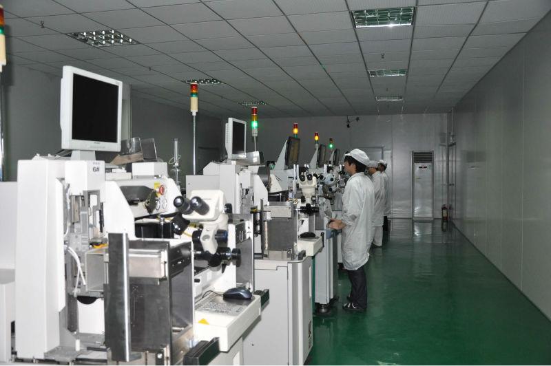 cob led spotlights on production line.JPG