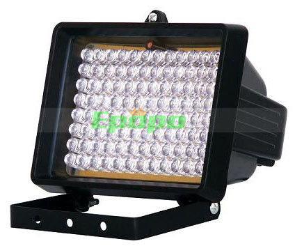 IP65 עמיד למים 850nm LED פנס IR אינפרא-אדום, אור עבור מצלמות במעגל סגור, מצלמת ראיית לילה כפול כוח, חינם SHIPING