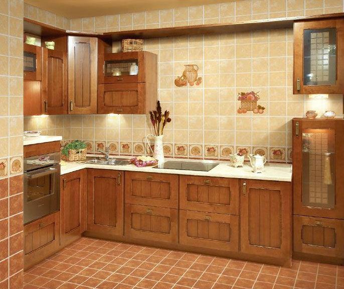 Rustique en c ramique cuisine carrelage mural tuiles id de for Carrelage pour mur de cuisine