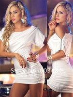 Женское платье 2012 new, CPAM! fashion dress, casual dress, white/black color, one size, DL2333w