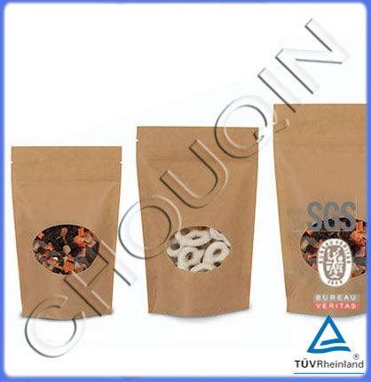 Shenzhen brown kraft paper grocery bag