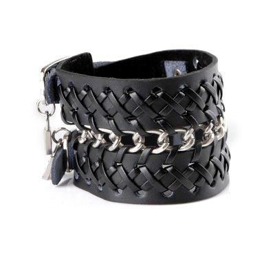 Fashion Belt Buckles  Women on Man Woman Cool Adjustable Fashion Belt Buckle Leather Bracelet Whosale