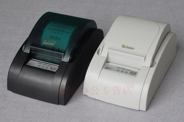 Free shipping USB Port 58mm thermal Receipt and POS printer Support with 26 international language and low noise.