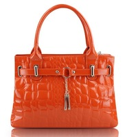 Сумка через плечо 2013 Leather Handbag Tote Shoulder Bags Woman HandBag fashion designer shoulder bag HE284