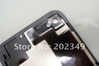 Аксессуары для мобильных телефонов 10 pcs Glass Battery Cover Back Housing for Iphone 4S black and white color is avaliable