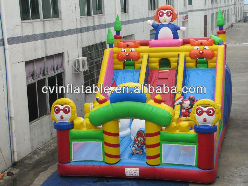 Little Pumper inflatable bouncer slide/ inflatable Fire Truck