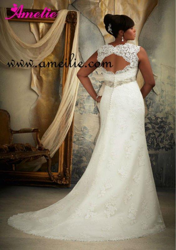 Lace Up Wedding Dress Back Fat 29