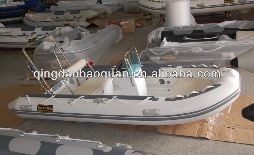 3.9m semi rigid center console boat inflatable for sale