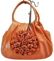 Сумка через плечо and retail guaranteed 100% PU flower ladies fashion bag shoulder bag women's handbag/QQ085