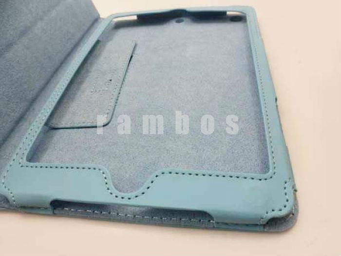 Book Type PU Leather Tablet Case Cover for iPad mini