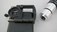 Телескопы, Бинокли 10x Optical Zoom Aluminum alloy Telescope Camera Lens 10x21 For iPhone 4 4s retail and