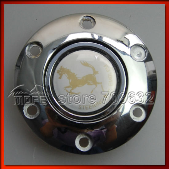53mm Deep Corn Dish 350mm 14inch Steel Racing Sport Car Wood Steering Wheel DSC_0039