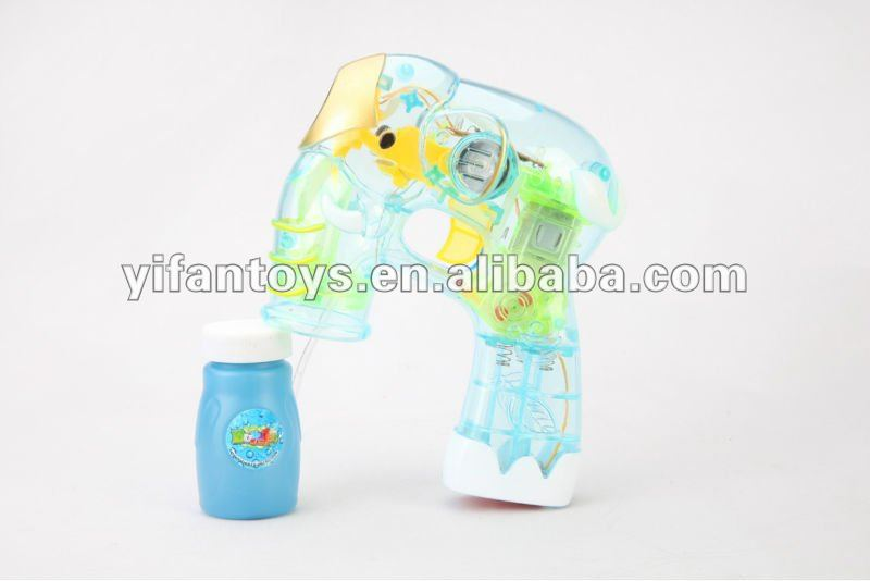 Dolphin bubble gun with lights animal bubble gun&Flashing bubble gun